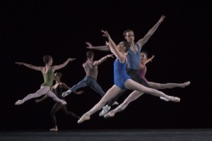 "Ballett am Rhein Düsseldorf/Duisburgb.22  ""Moves""  ch.: Jerome Robbins"