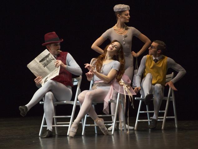 "Ballett am Rhein Düsseldorf/Duisburg b.29 ""The Concert"" ch.: Jerome Robbins"
