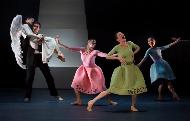 Ballett am Rhein Düsseldorf/Duisburg b.30 Wounded Angel   ch.: Natalia Horecna
