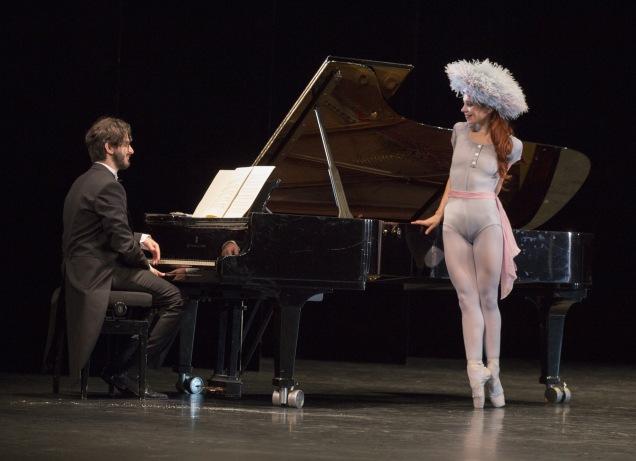 """Ballett am Rhein Düsseldorf/Duisburgb.29 """"The Concert"""" ch.: Jerome Robbins"""