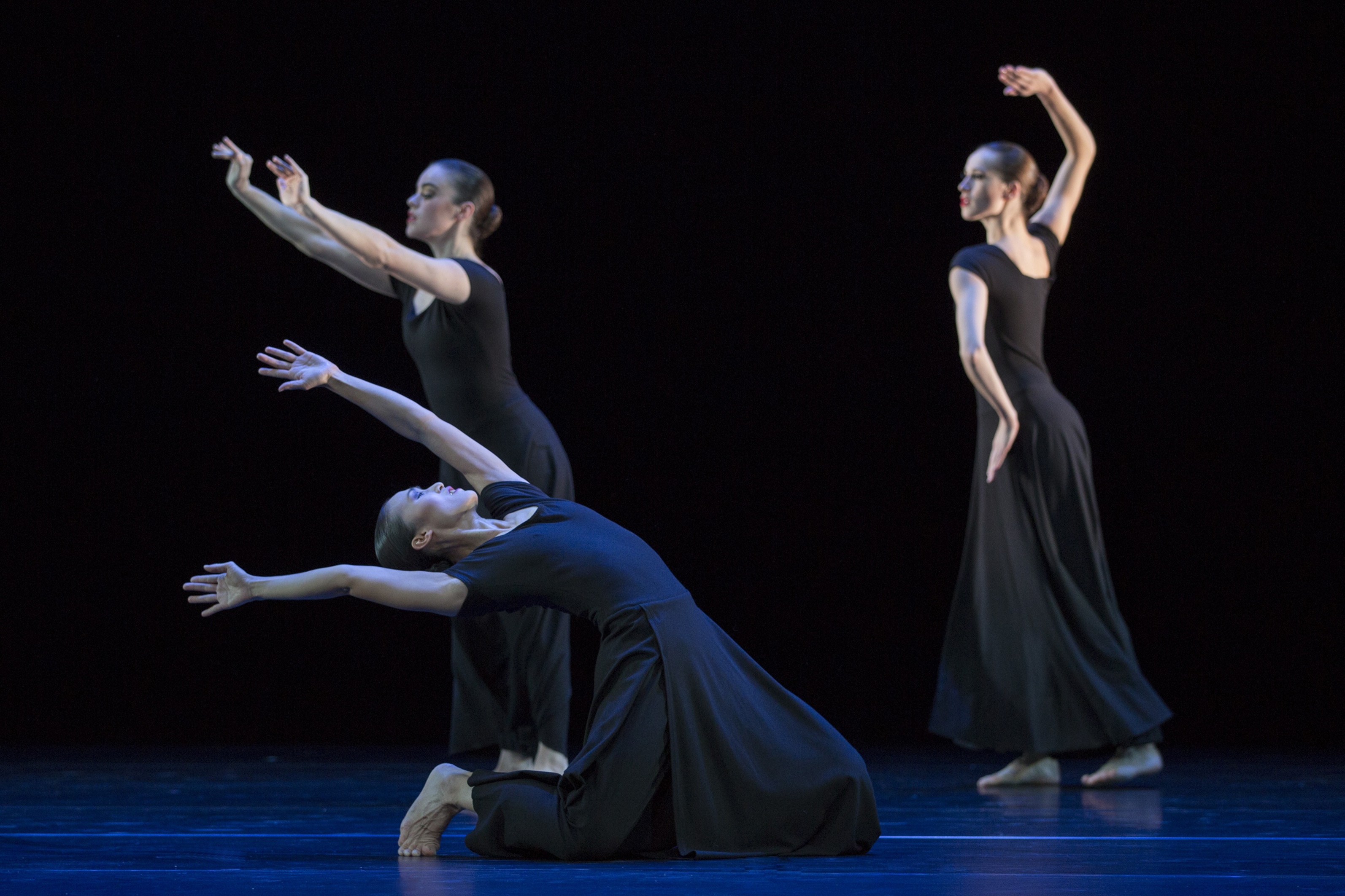 Steps on the streetch: Martha Graham